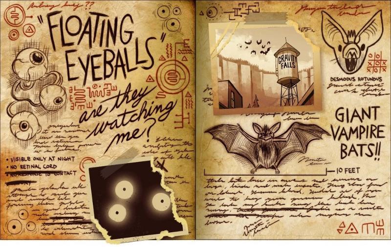 Как создать дневник диппера