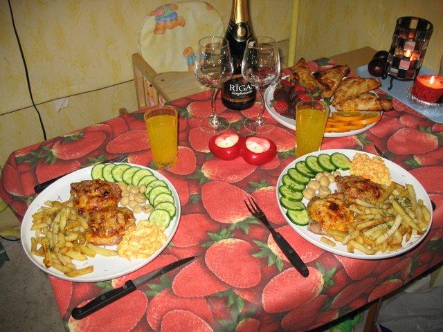 Рецепты для романтического ужина в домашних условиях пошагово 9