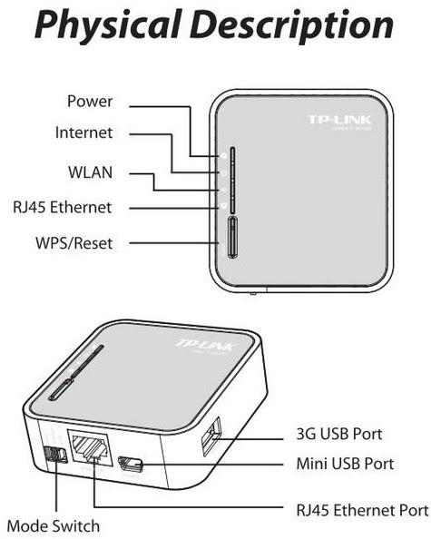Tp link tl mr3020 user guide