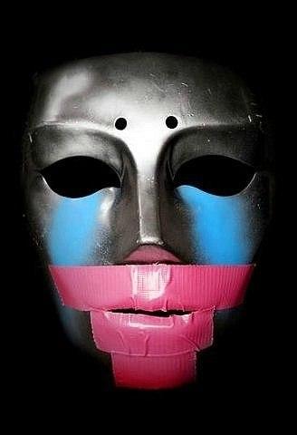 Как сделать маску hollywood undead своими руками