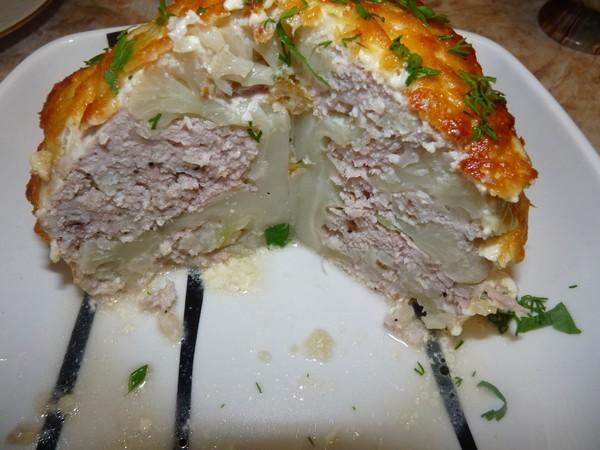 Блюда из цветной капусты с фаршем рецепты