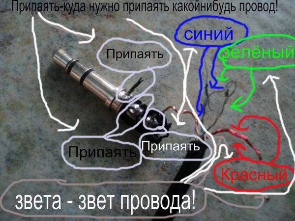 Как сделать штекер для наушников без паяльника