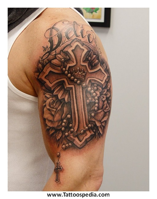 Как сделать тату в виде креста