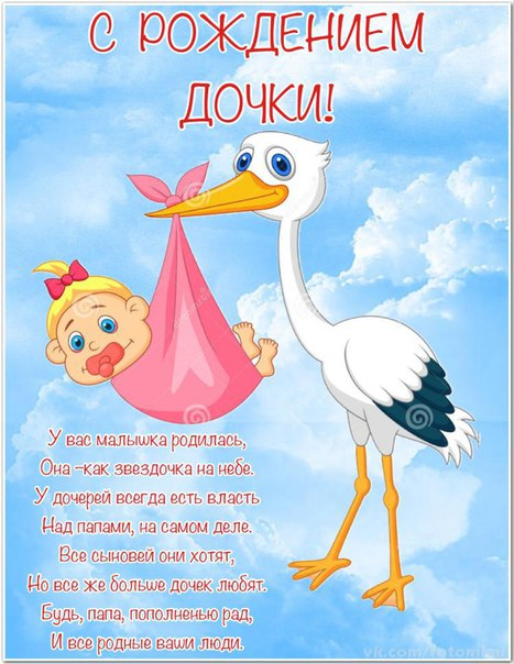 Скачать поздравления папе с дочкой на день рождения