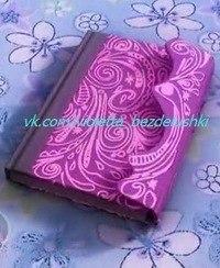 Как сделать дневник своими руками как у виолетты