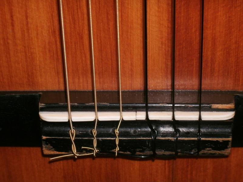 Как сделать струны на гитару своими руками 17