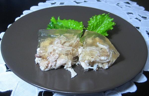 Рецепт холодца из курицы индейки
