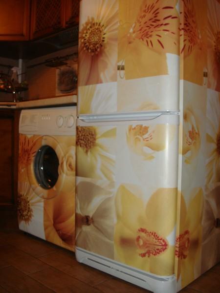 Какой пленкой обклеить холодильник своими руками