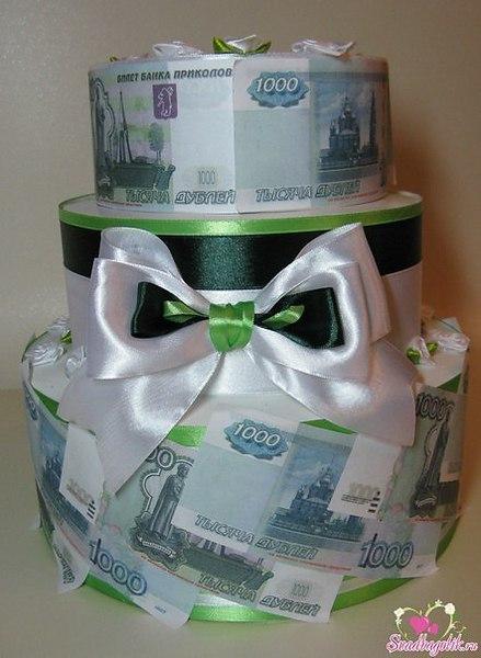 Фото из денег на свадьбу своими руками