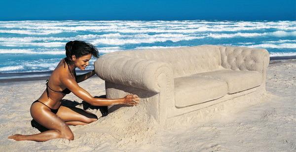девушка отдых диван  № 41366 без смс