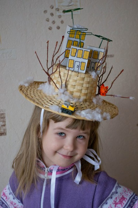 Шляпа своими руками для мальчика из подручных материалов