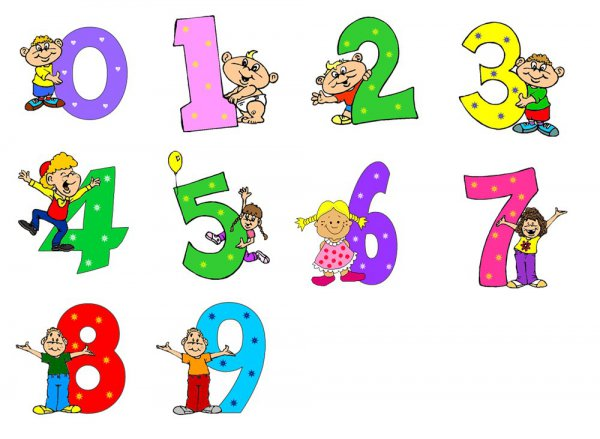 Математика в числах книжка