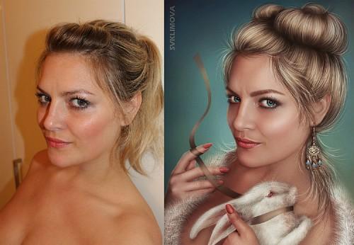 Фотошоп как сделать себя красивым на фото
