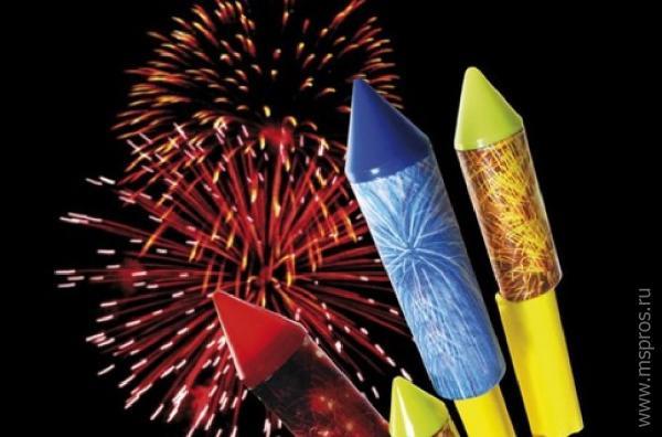 Как сделать фейерверки на новый год