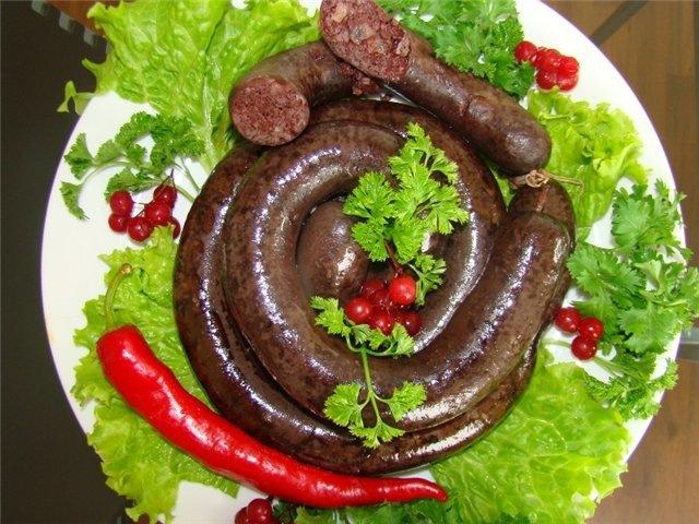Как в домашних условиях делать кровяную колбасу в домашних условиях