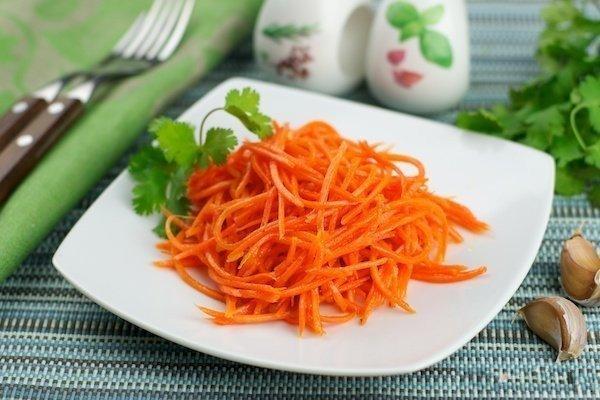 Салат морковь по корейски в домашних условиях