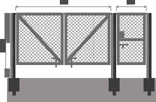 Как сделать ворота из сетки рабица своими руками