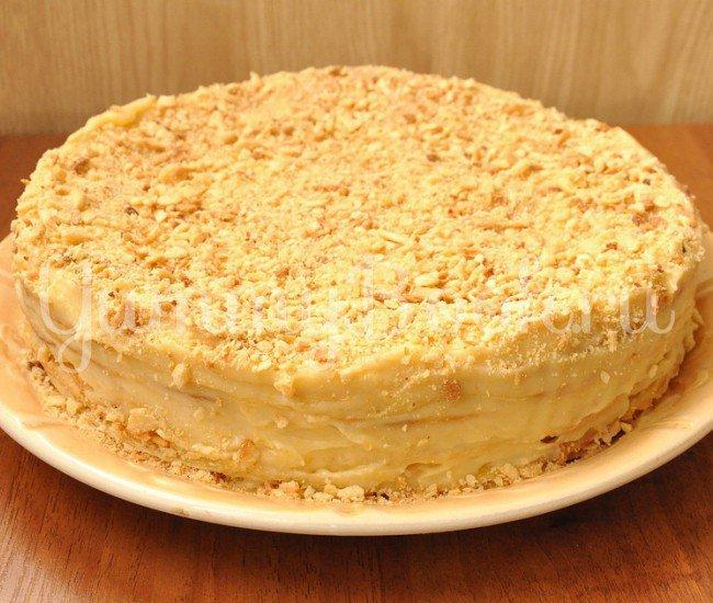 Как из слоеного теста сделать наполеон торт