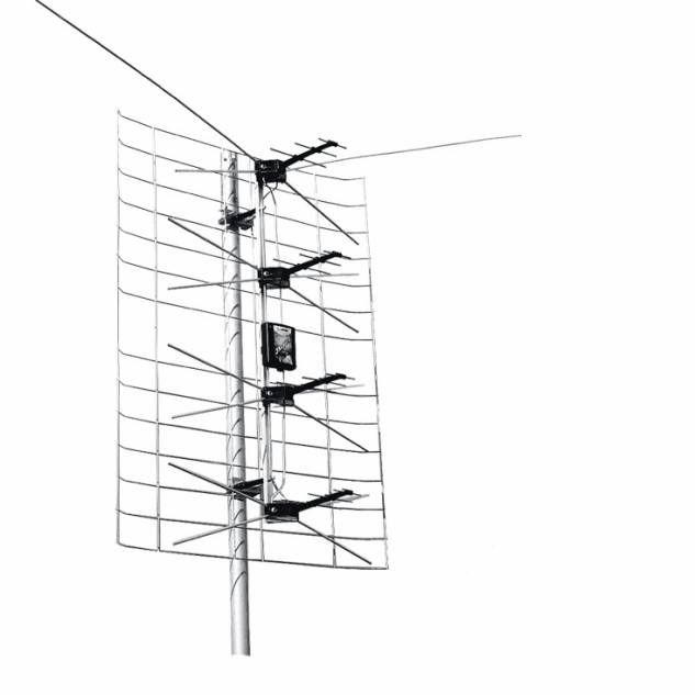 Как усилить сигнал на тв антенну своими руками