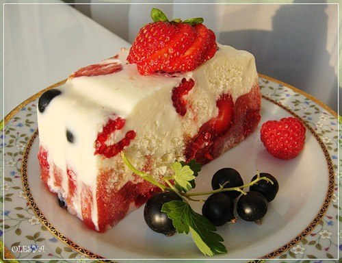 Тортик летний рецепт
