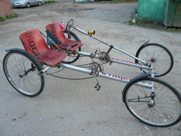Четырех колесный велосипед своими руками из