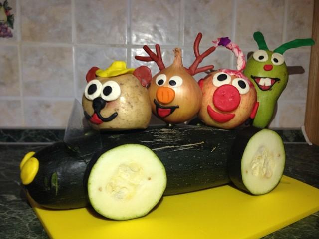 Поделка своими руками овощи фрукты