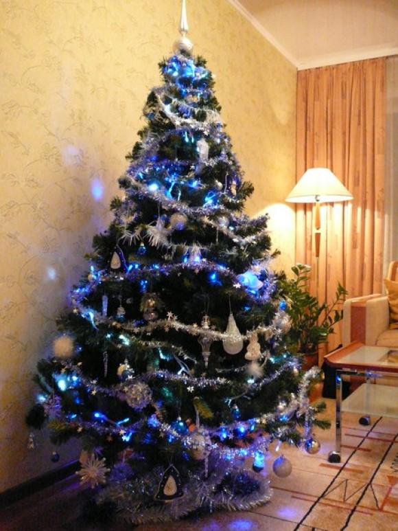Домик украшение на елку