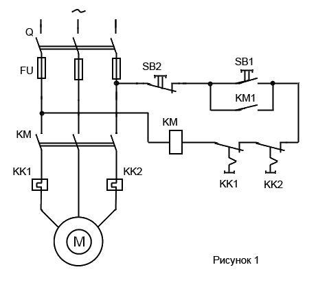 Схемы управления двигателей с