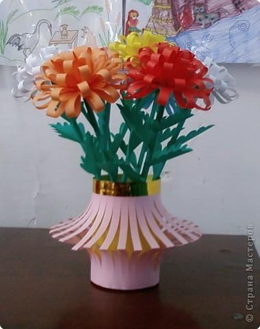 Поделки цветов ко дню матери
