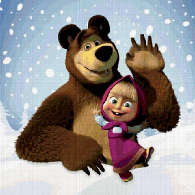 Маша и медведь с конкурсами