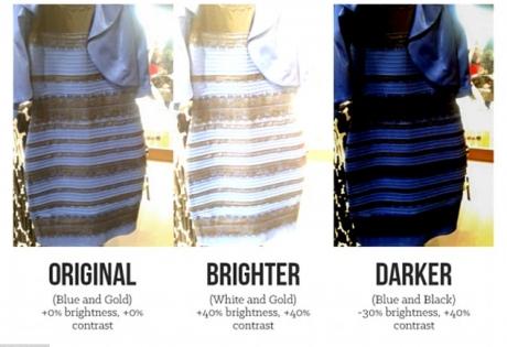 Видео платье сине черное или белое
