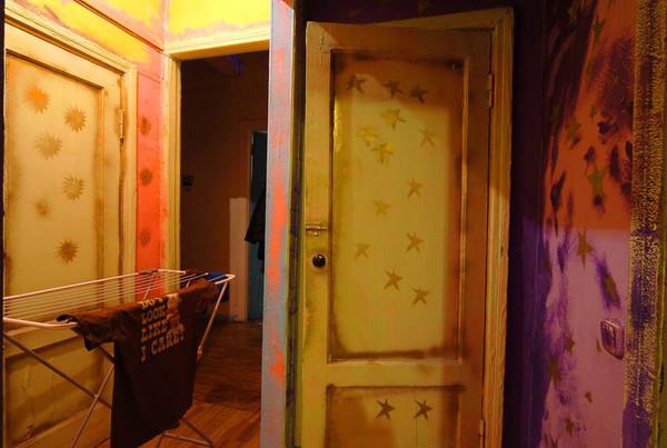 Как задекорировать дверь в ванную своими руками фото 51