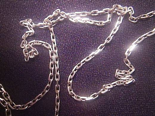 Как сделать серебряную цепочку в домашних условиях