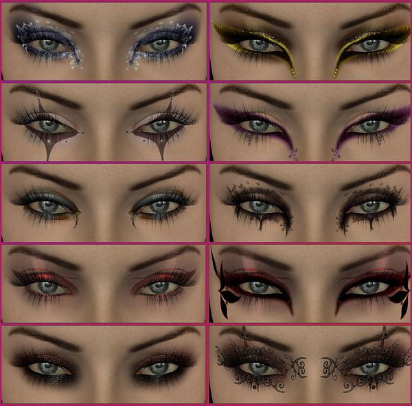 Как сделать так чтоб были красные глаза