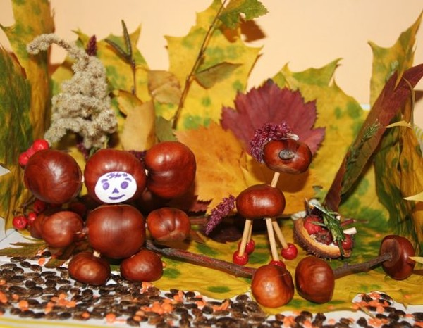 Осенние поделки своими руками фото детские