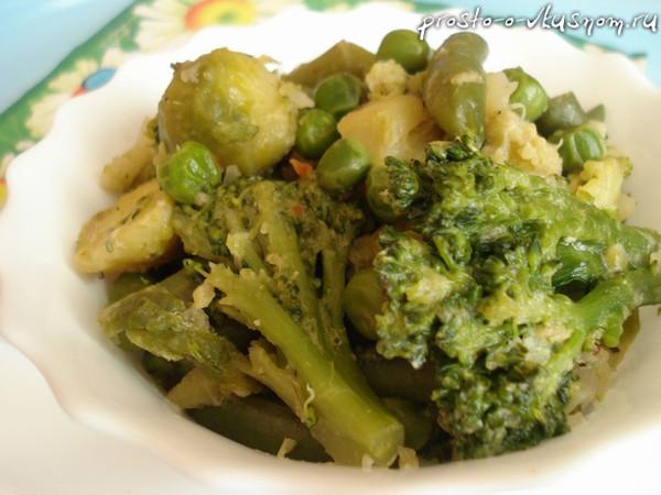 Как вкусно приготовить замороженные овощи с