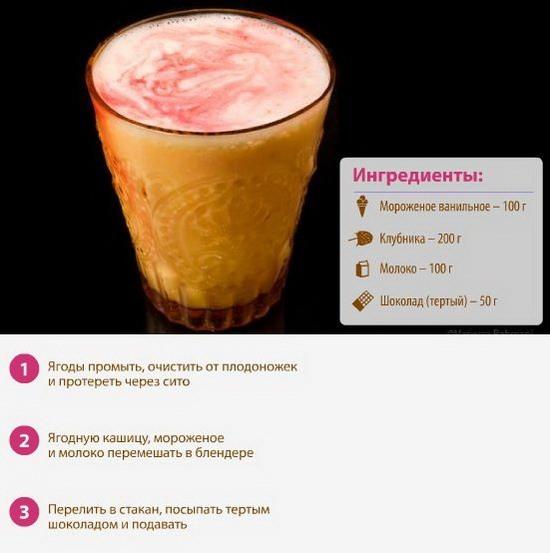Как сделать молочный коктейль из мороженого и молока