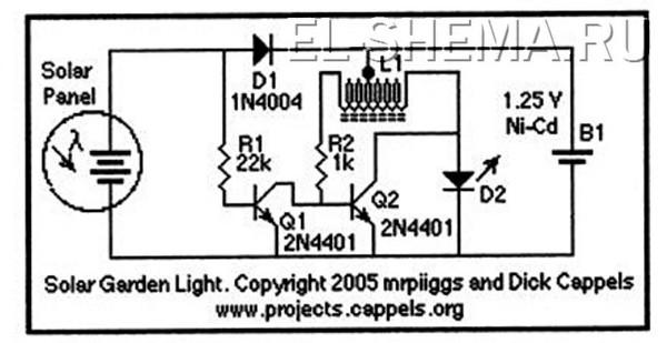 Переделка садового светильника своими руками