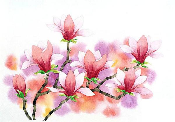 Китайские рисунки цветов