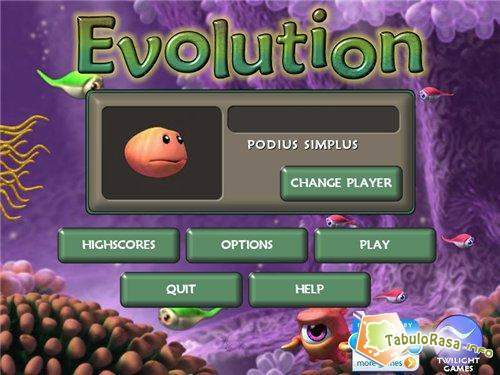 Evolution games