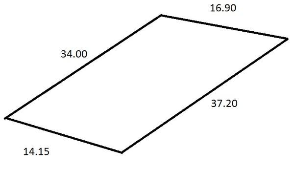 Как рассчитать площадь участка неправильной формы они шли