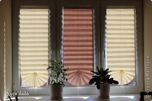 Бумажная штора на окно своими руками 100
