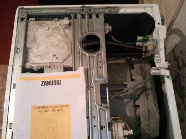 Стиральная машина ремонт своими руками электрическая часть