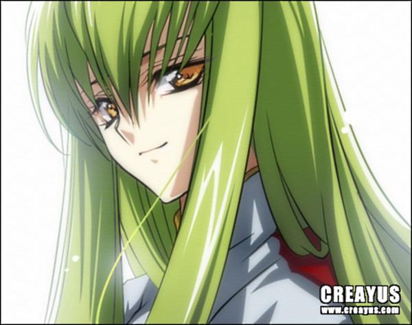 Аниме-девушки с зелеными волосами