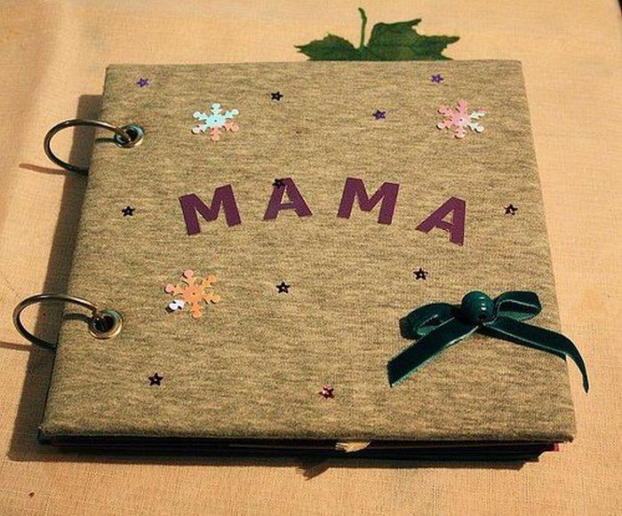 Книга подарок маме своими руками на