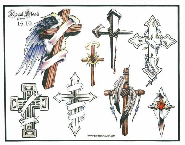 Рукава Рисуем Значение Тату на руке крест