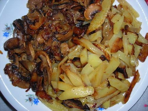 Что приготовить на ужин быстро и вкусно из грибов