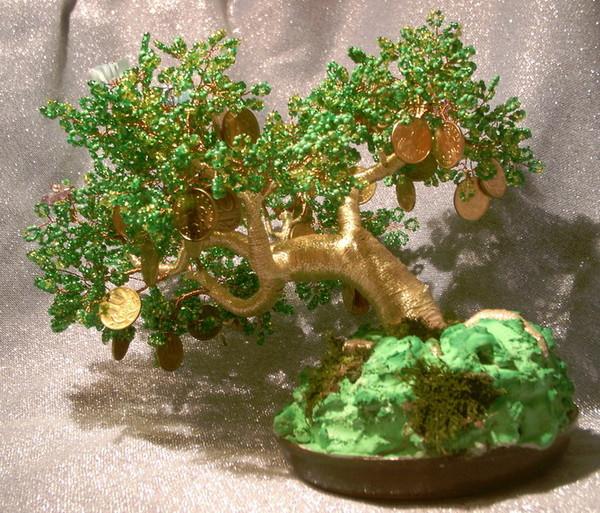 Монетное дерево своими руками