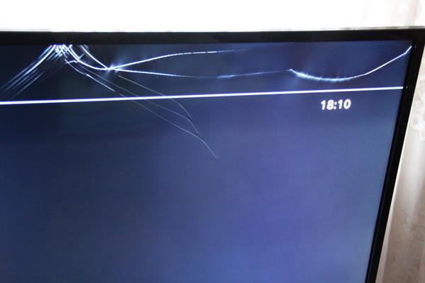 Как убрать царапину с экрана жк телевизора в домашних условиях