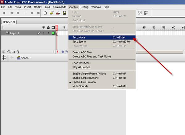 Как самому сделать swf файл